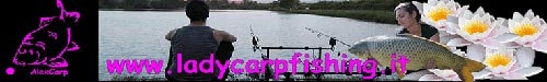 Lady Carp Fishing